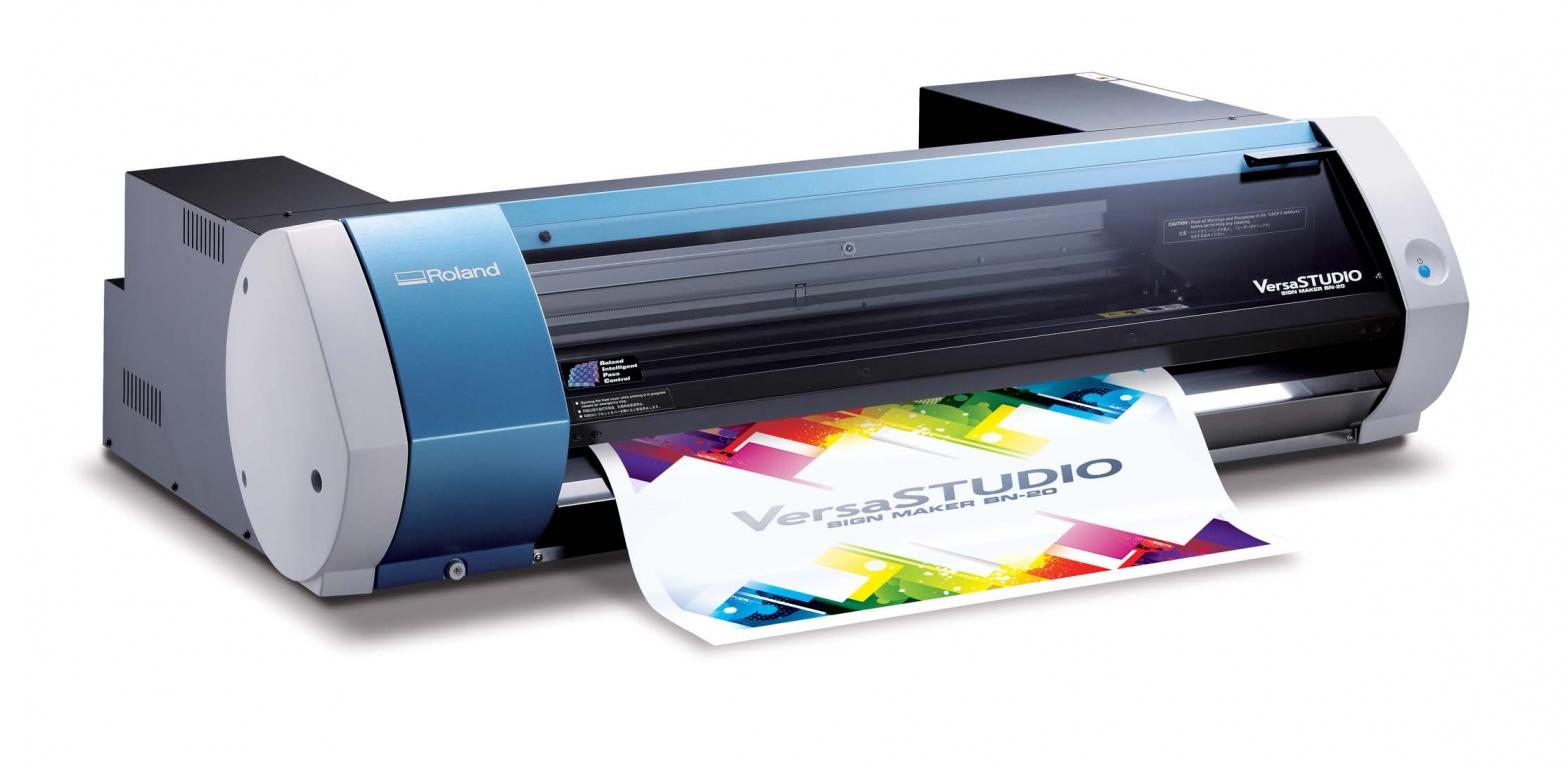 Roland Versastudio Bn 20 Tulostinleikkuri 480mm Lamtekno Oy