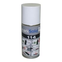 markSolid 114 Lasertahna spray 300ml musta, metalli UUTUUS