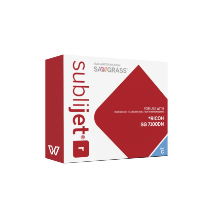 SubliJet-R SG 7100DN Ext Cyan, 68ml High capacity