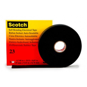 Scotch 23 itsesulautuva teippi 25mm x 9,15m rasiassa 60 165 13