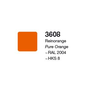 XF3 3608 Matte Pure Orange 1260 x 2,2m PALA